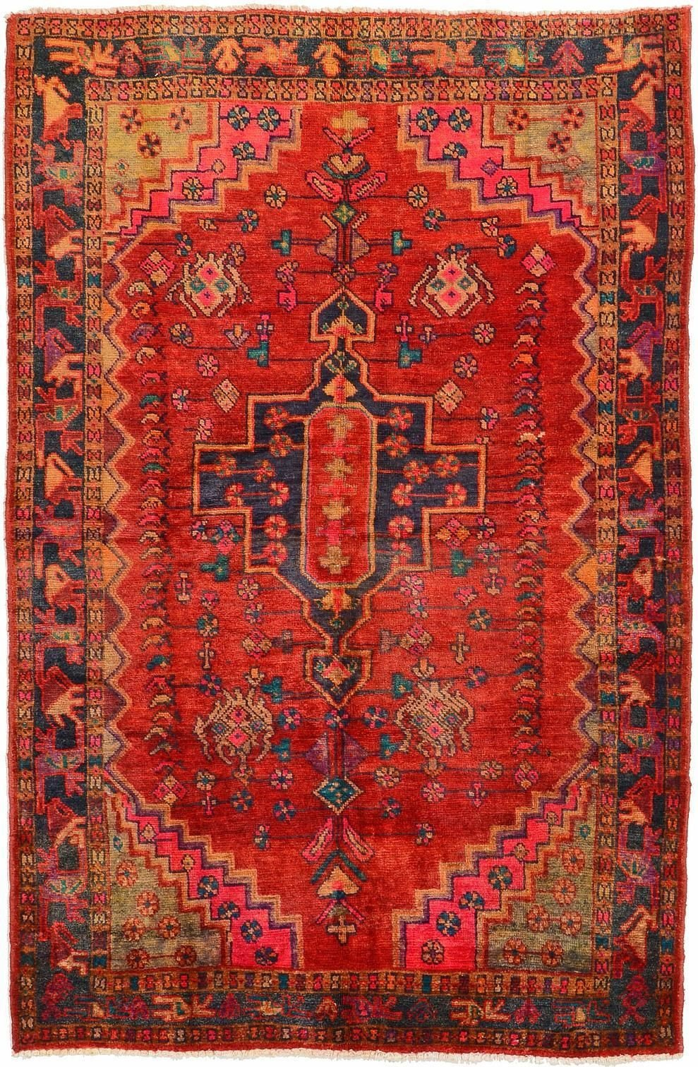Red Rugs for Bedroom Awesome Red 5 1 X 7 9 Hamedan Rug Persian Rugs
