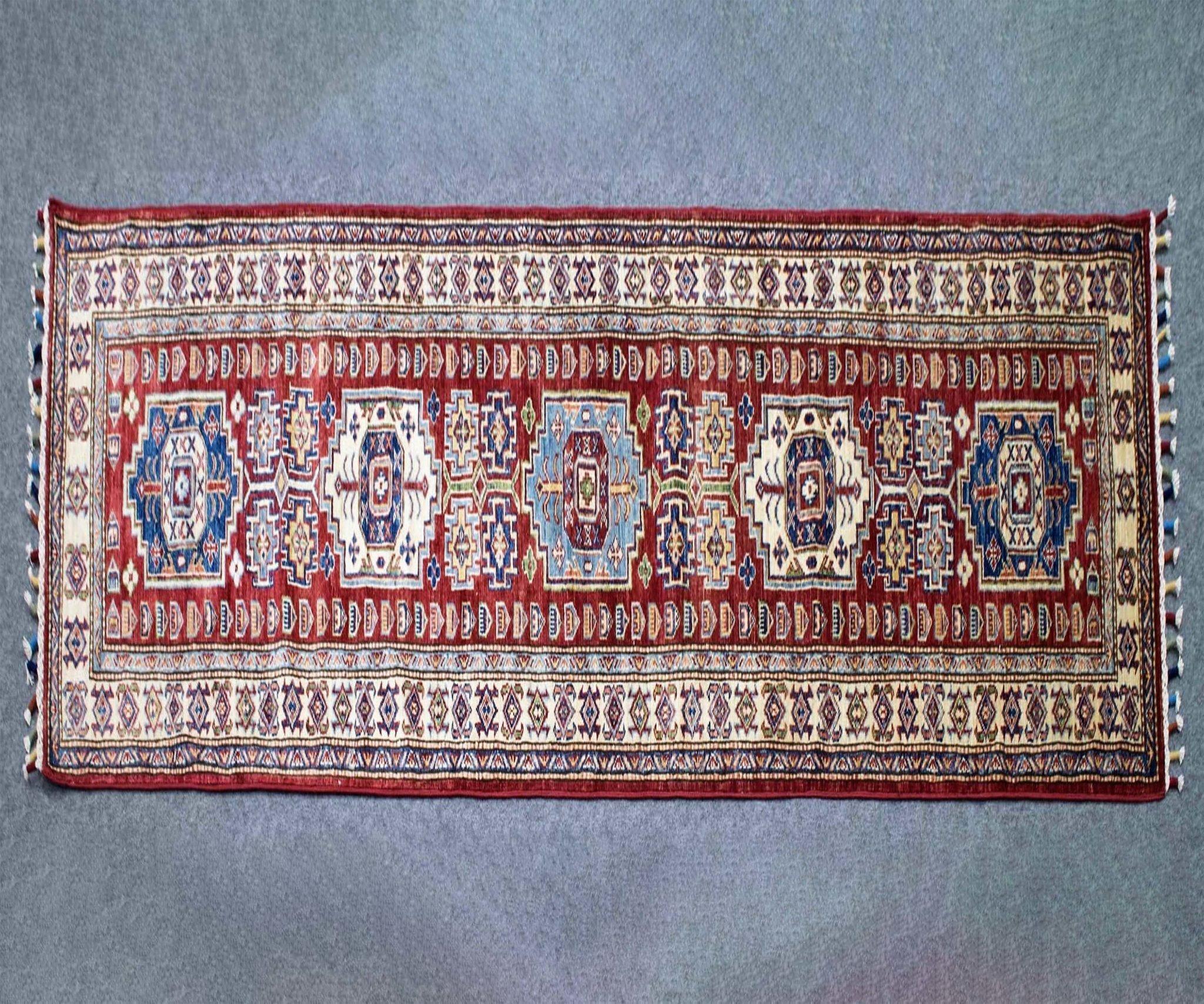 Red Rugs for Bedroom Inspirational 3x10 Elegant Traditional Super Kazak Sk 111