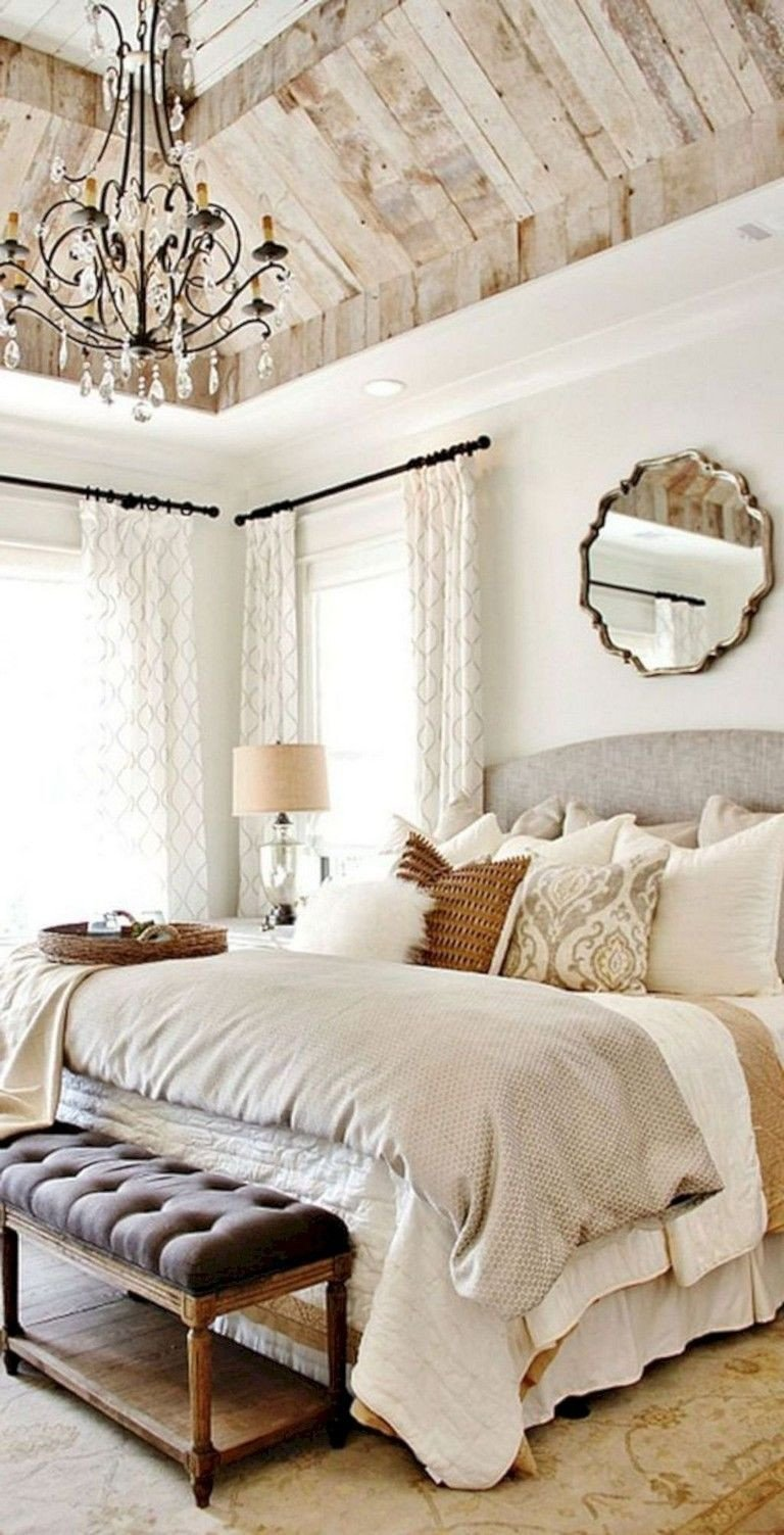 Romantic Bedroom Colors for Master Bedrooms New 40 Remarkable Farmhouse Rustic Style Bedroom Decorating