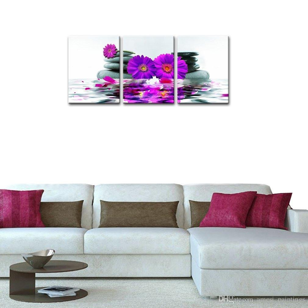 Rose Decorations for Bedroom Best Of 2019 Canvas Wall Art Prints Purple Flower Paintings Art for Living Room Bedroom Decor From Amesi Paintings $14 95