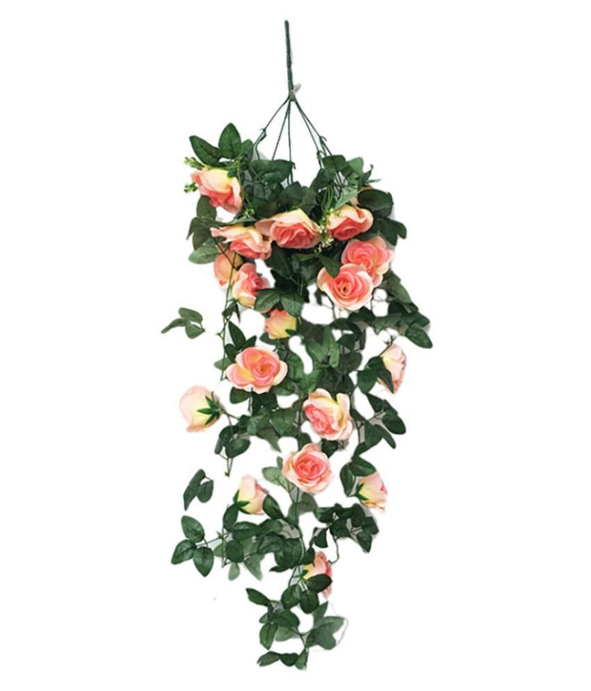 Rose Decorations for Bedroom Best Of Simulation Fake Flower Rose Vine Wall Hanging Flower orchid