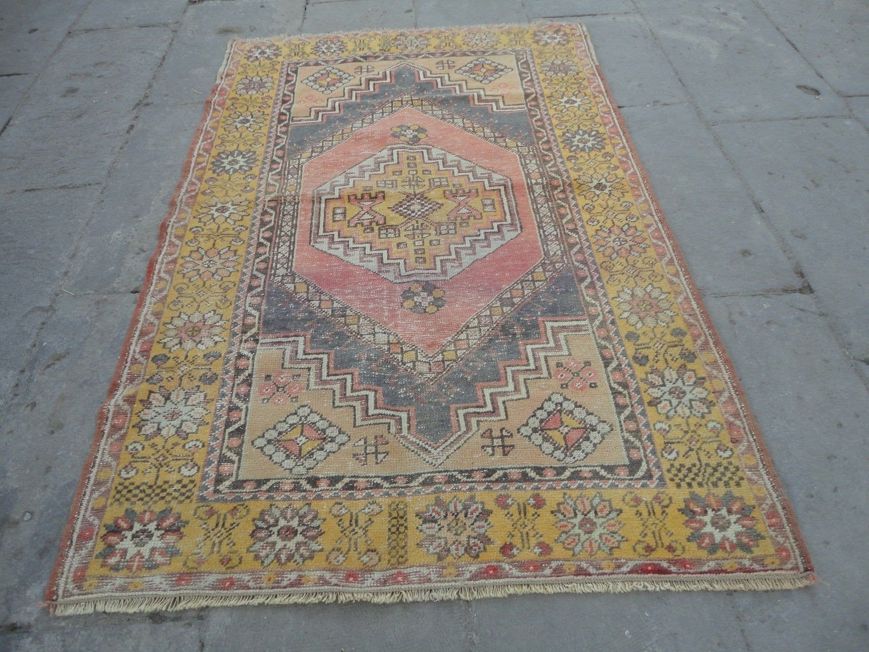 Rug On Carpet Bedroom Best Of Turkish Rug 3x5 Ft Low Pile Carpet Bedroom Rug 167 X 110 Cm