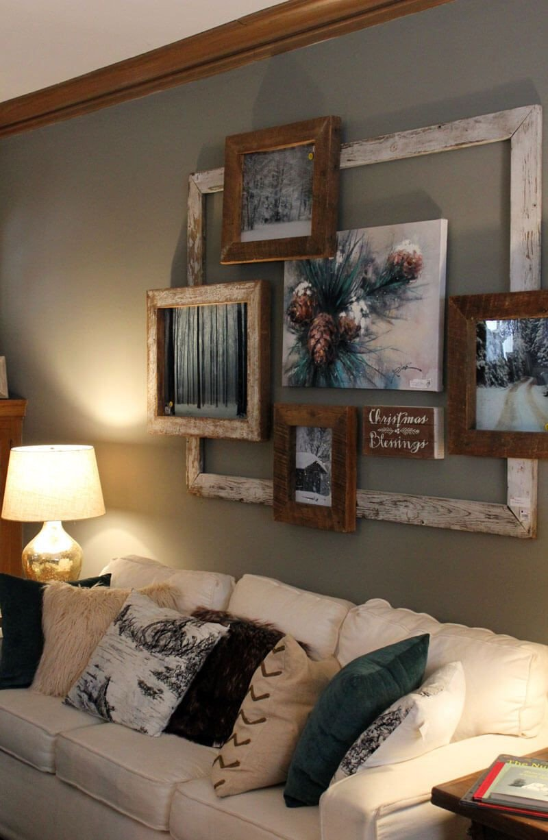 Rustic Bedroom Wall Decor Beautiful Nouvelle Rustic Parlor Style Picture Frames