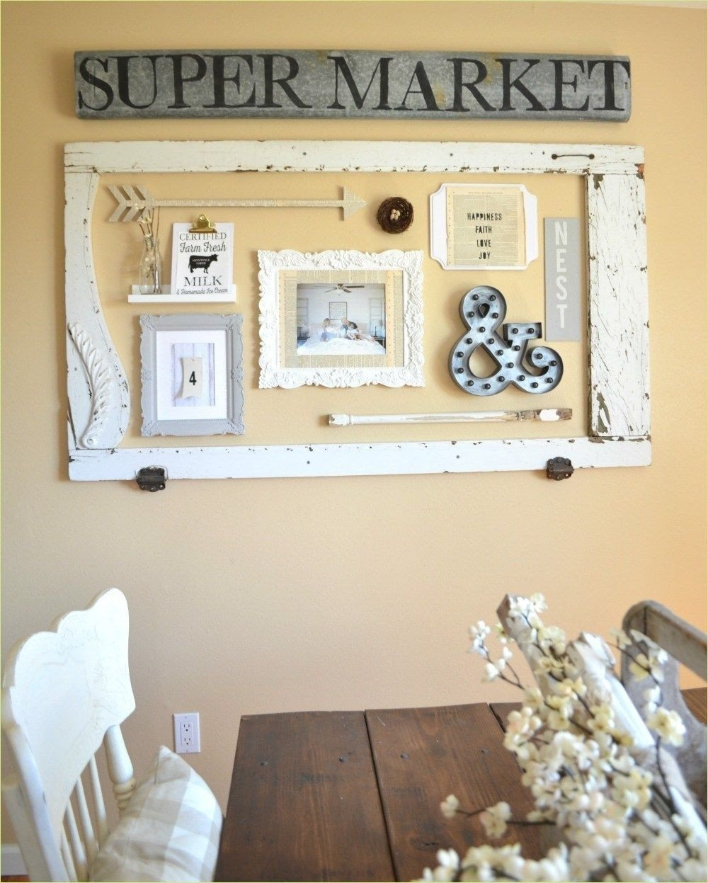 Rustic Bedroom Wall Decor Elegant 37 Clever organize Farmhouse Wall Grouping Ideas