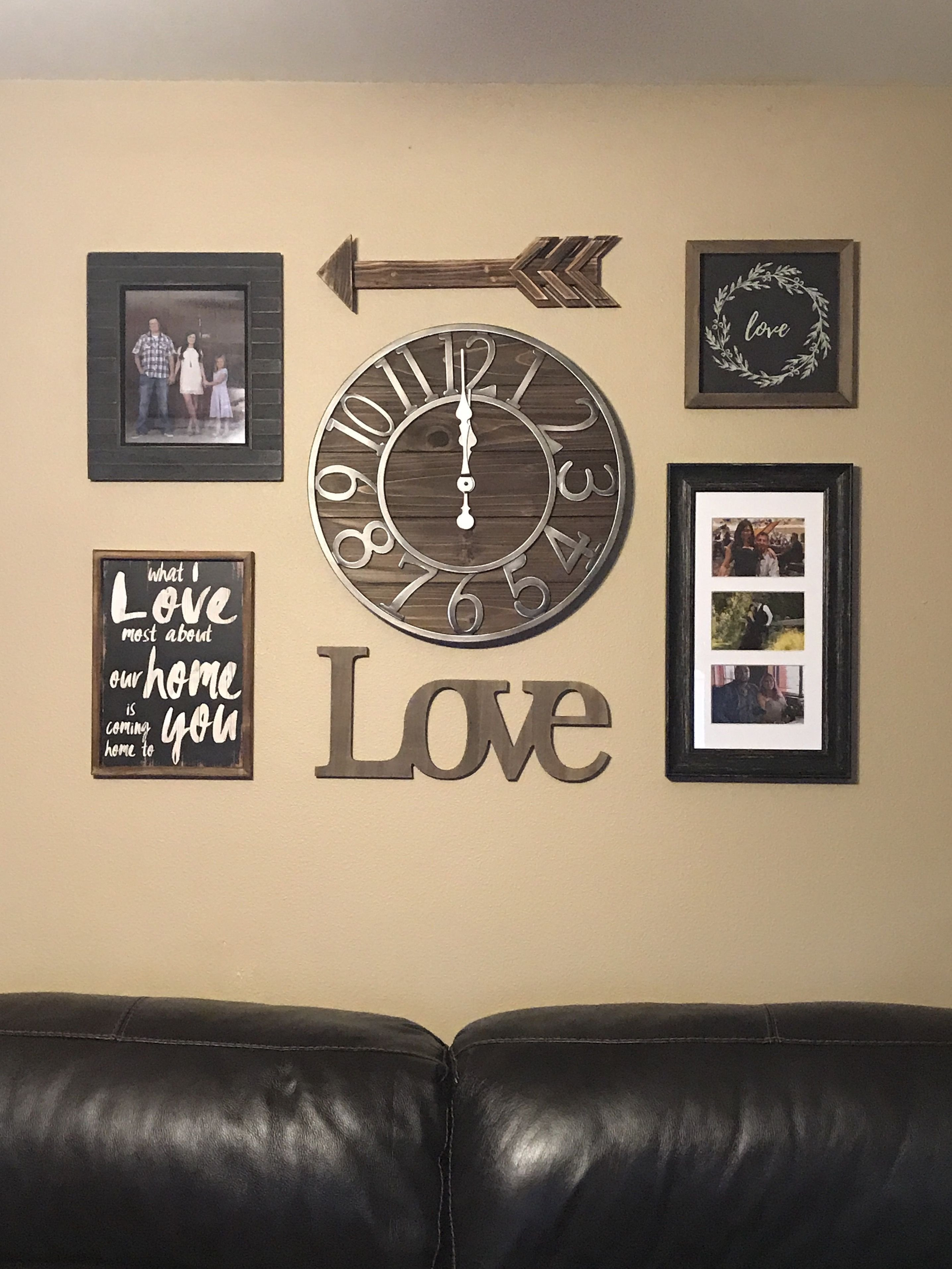 Rustic Bedroom Wall Decor New Collage Wall Collage Rustic themed Living Room