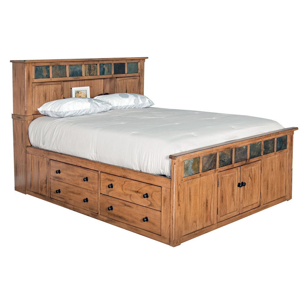 Rustic King Bedroom Set New Sd 2334ro Sek Sedona Rustic Petite Storage Bed E King Size