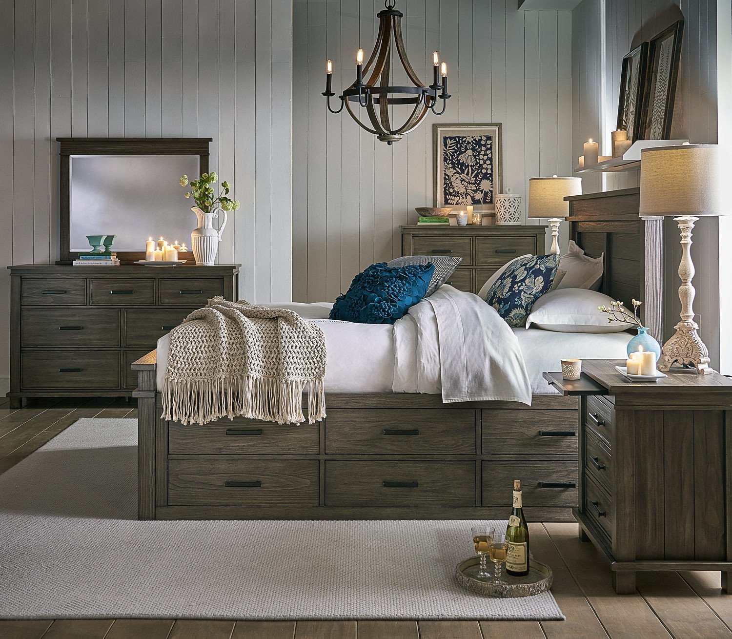 Rustic Pine Bedroom Furniture Awesome River Falls Captains Bedroom Suite