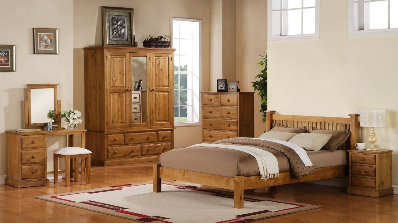 Rustic Pine Bedroom Furniture Inspirational Pine Bedroom Furniture with Brown Bed Cover Bedroom Vanity
