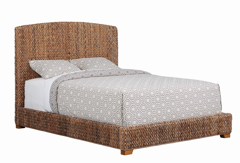 Rustic Queen Bedroom Set Beautiful Laughton Queen Hand Woven Banana Leaf Bed Amber Coaster