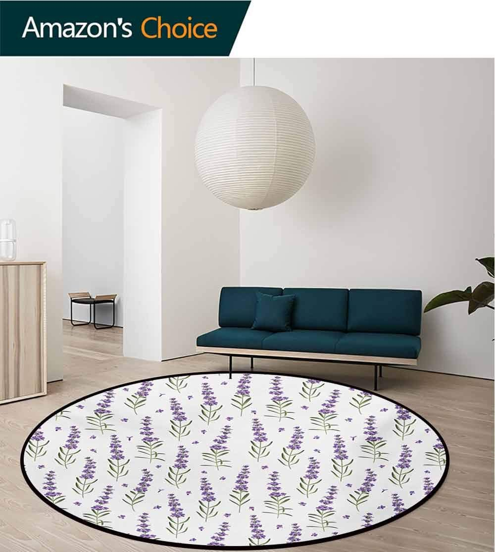 Sage Green Bedroom Ideas Awesome Amazon Rugsmat Lavender Round area Rug Ultra Fy