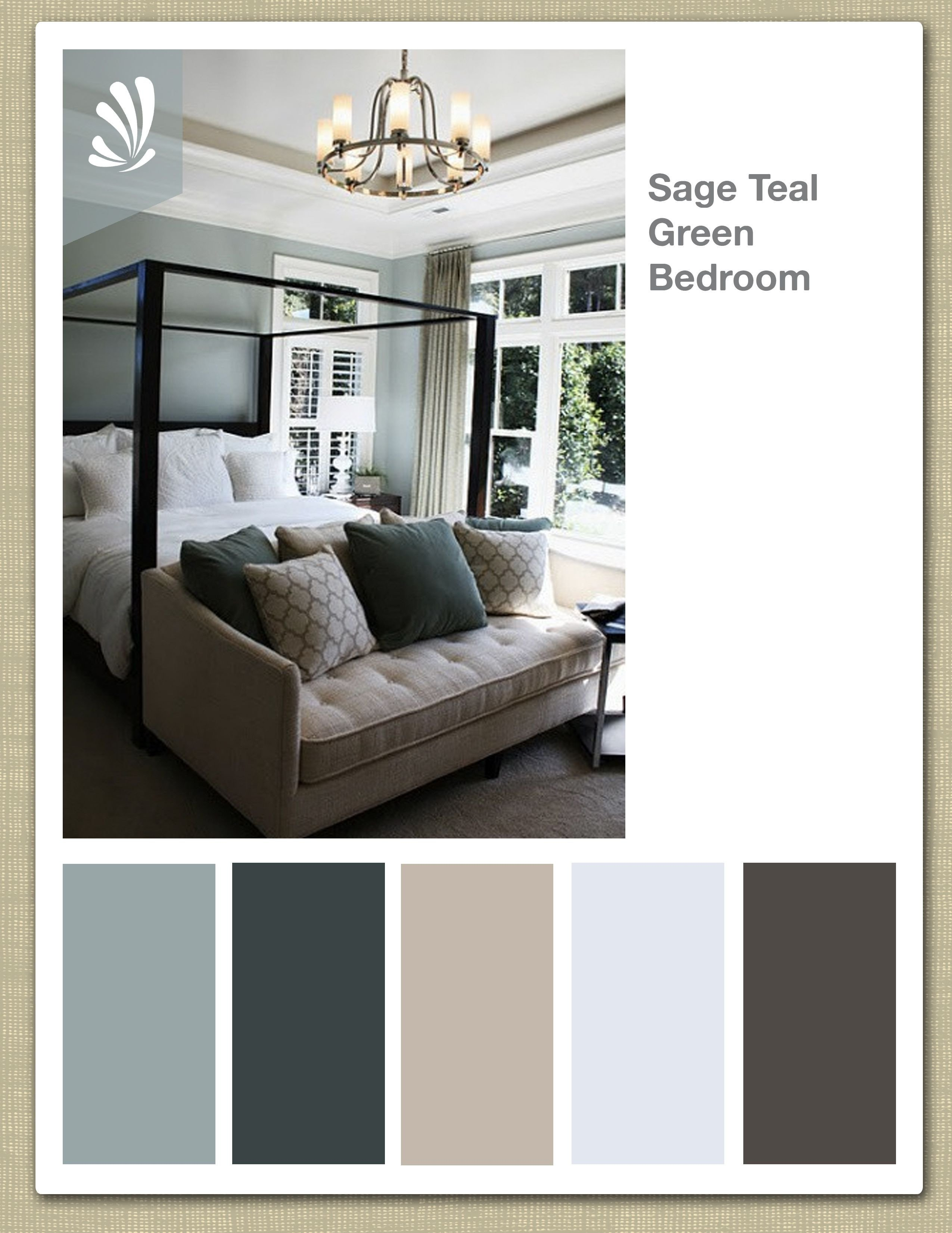 Sage Green Bedroom Ideas Elegant Sage Cream Oil Gray and Teal Green Color Palette soothing