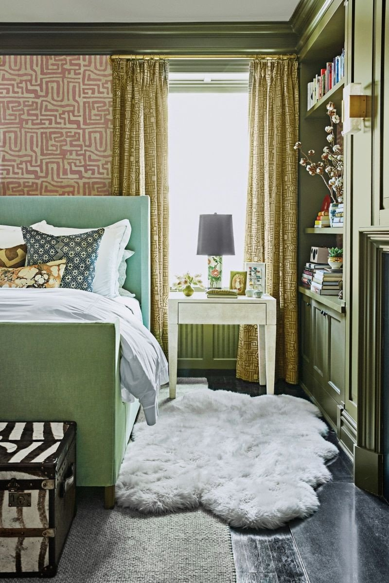Sage Green Bedroom Ideas Unique Christina Bryant S sophisticated West Village Apartment