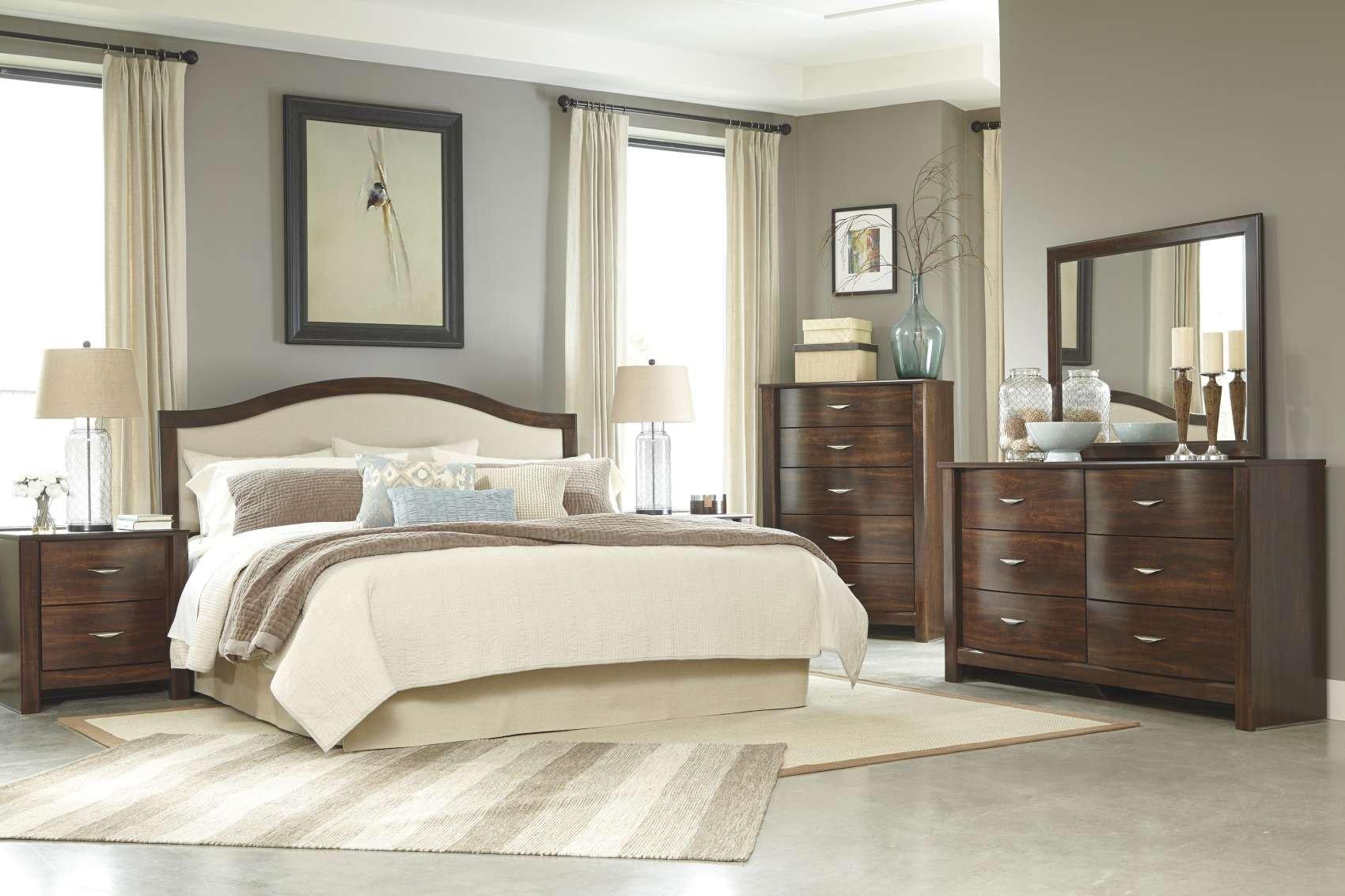 San Mateo Bedroom Set Elegant Corraya Medium Brown Bedroom Collection B428