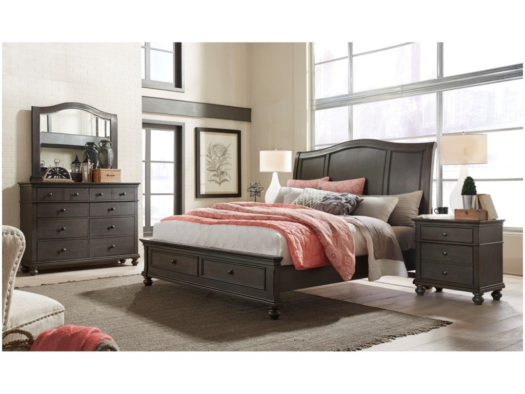 San Mateo Bedroom Set New Oxford Chesser