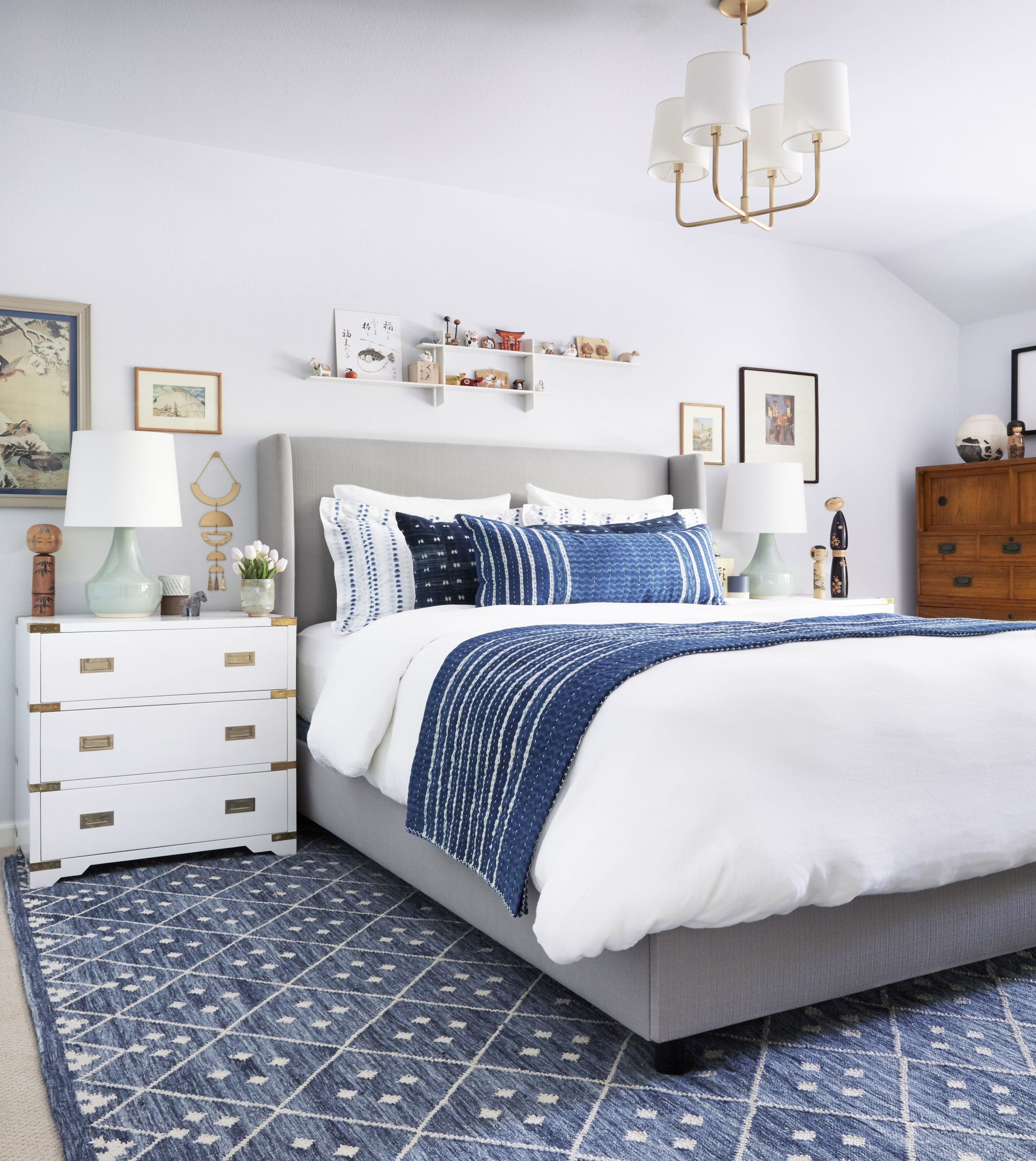 Shades Of Blue for Bedroom Lovely Blue Bedroom Decor Guest Bedroom Ideas How to Create Big
