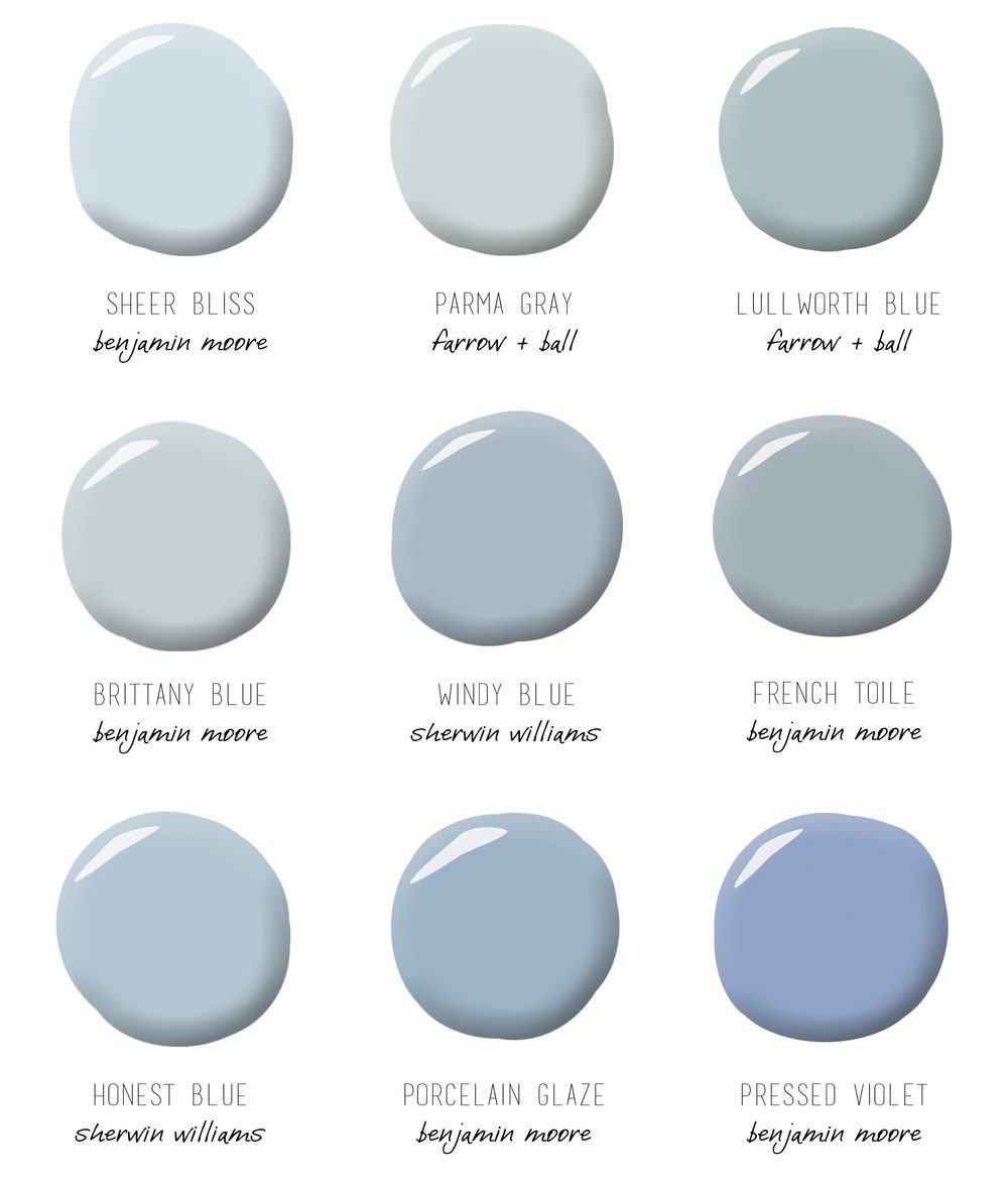 Shades Of Blue for Bedroom Lovely Paint Colors