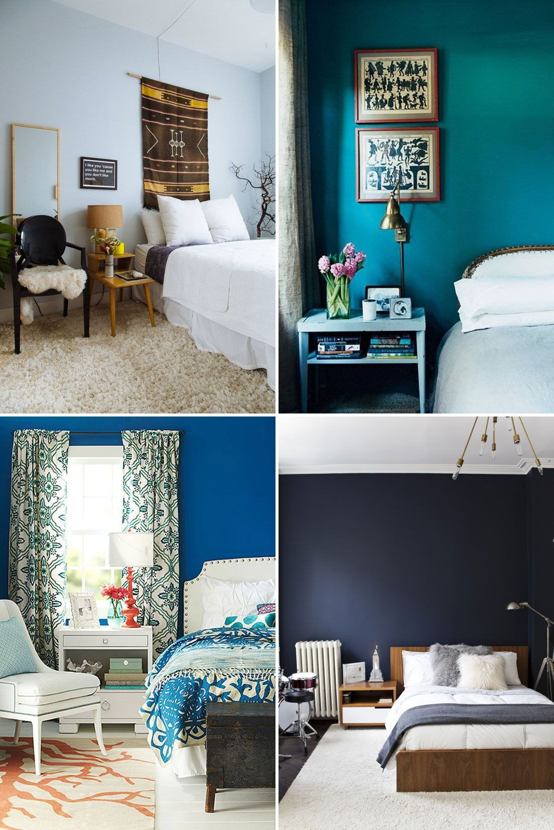 Shades Of Blue for Bedroom Lovely the 3 Most Relaxing Colors for Your Bedroom
