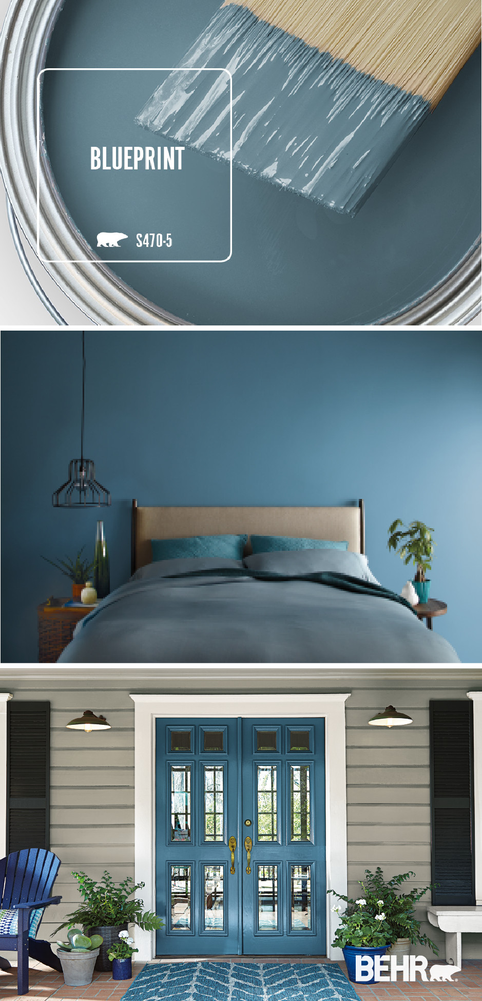 Shades Of Blue for Bedroom Luxury See What the Behr 2019 Color Of the Year Blueprint Can Do