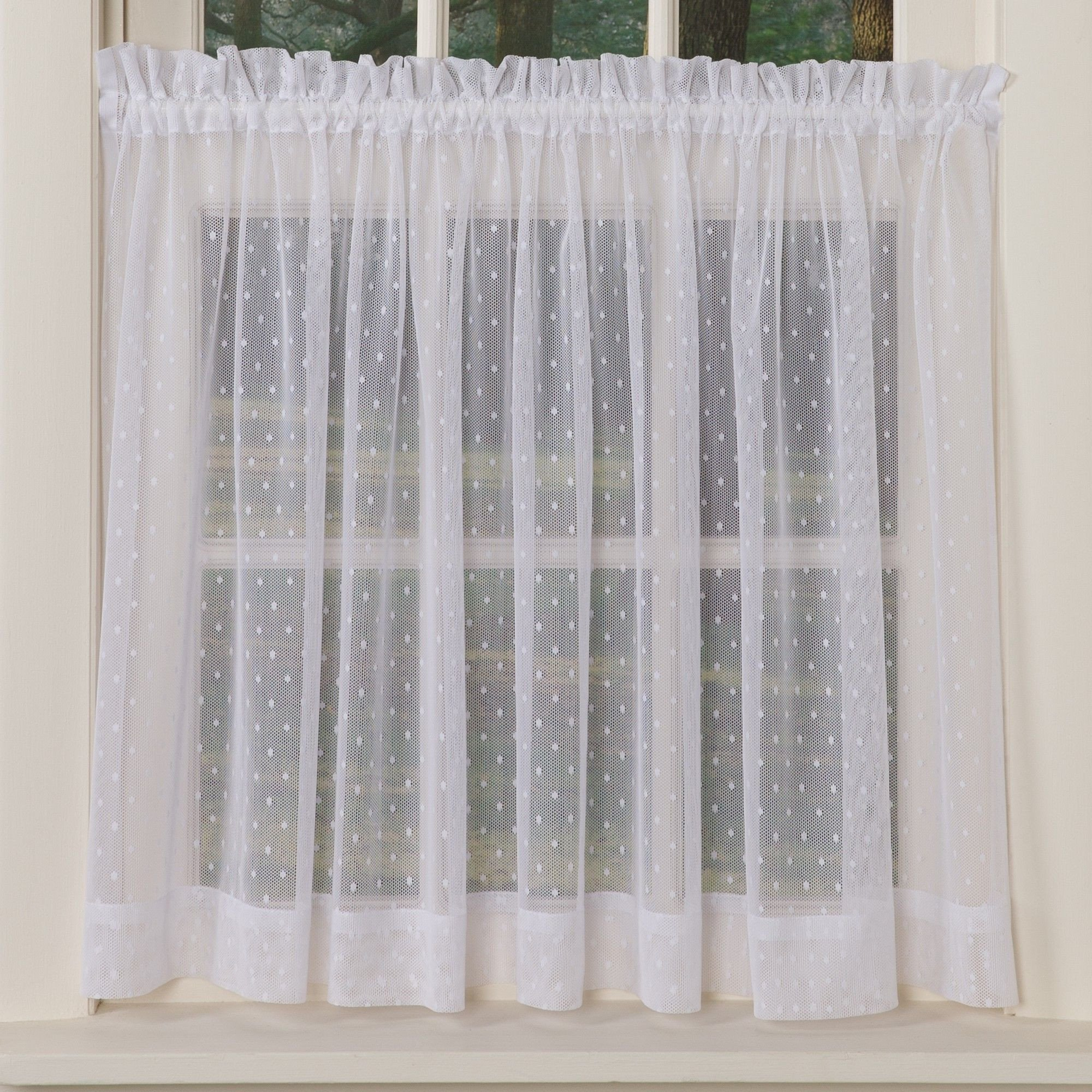 Short Curtains for Bedroom Windows Beautiful Swiss Dotted Sheer Curtains In 2020