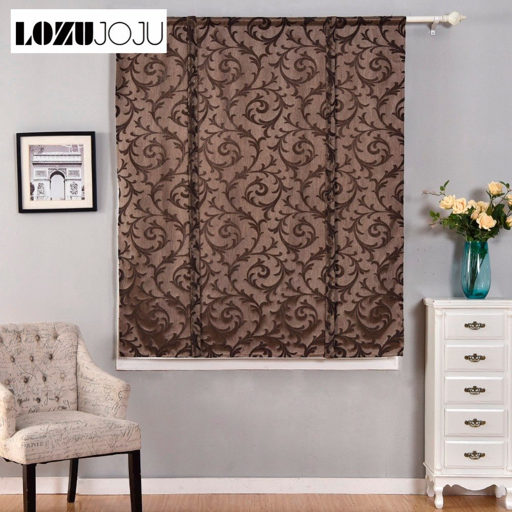 Short Curtains for Bedroom Windows Luxury Us $12 28 Off Lozujoju Short Roman Curtains Blackout Endless Stripe Jacquard for Kitchen Doors Small Windows Fabric for Living Room Bedroom In