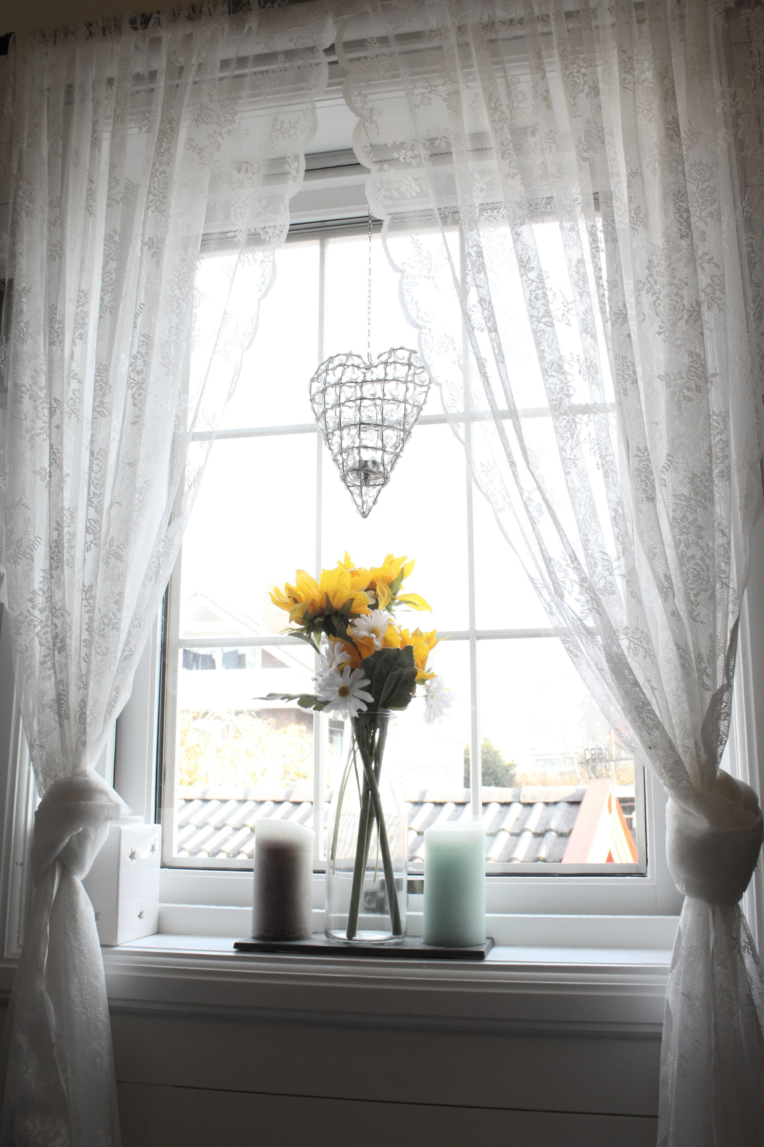 Short Curtains for Bedroom Windows New Alvine Spets Ikea Curtains Tied In 2020