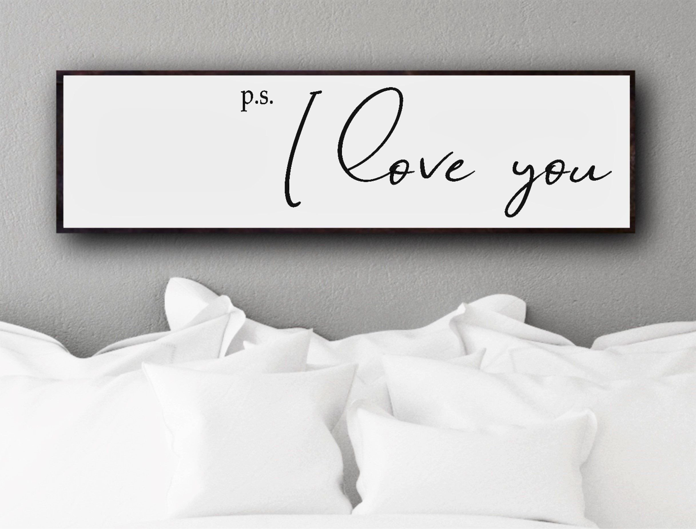 Signs for Bedroom Walls New I Love You Ps I Love You Sign Over the Bed Art Bedroom