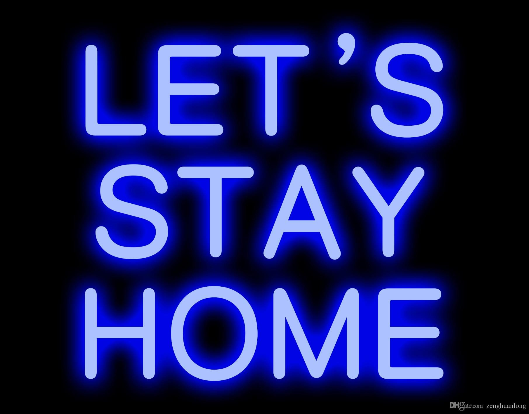 Signs for Bedroom Walls Unique 2019 Fashion New Let S Stay Customer Design Room Wall Windows Display Neon Signs 10x10 From Zenghuanlong $85 43