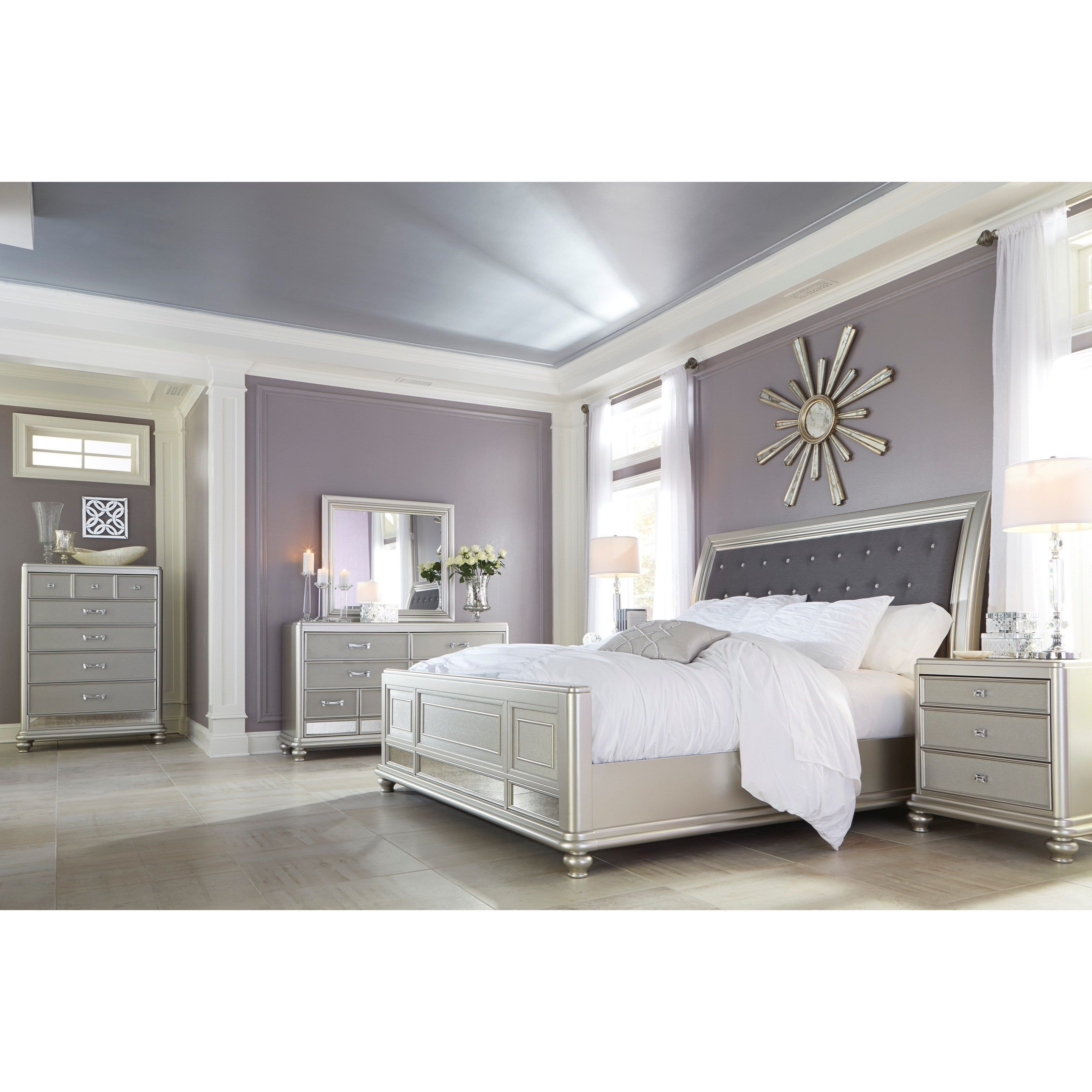Silver Grey Bedroom Furniture Lovely Coralayne Queen Bedroom Group by Signature Design by ashley
