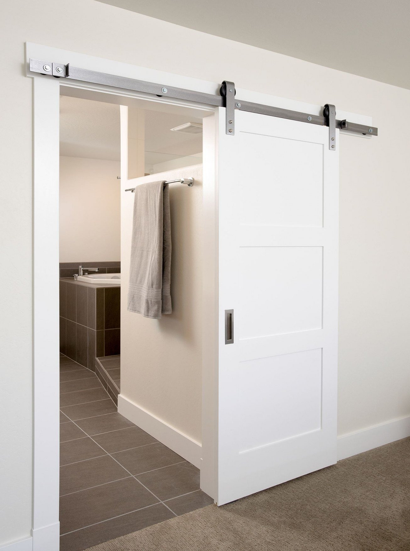 Sliding Barn Door for Bedroom Elegant Barn Doors for Closets This Contemporary Sliding Interior