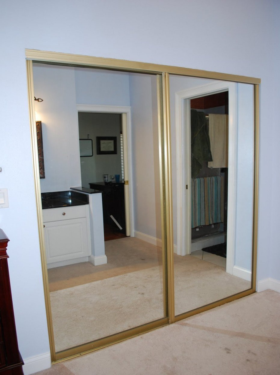 Sliding Doors for Bedroom Best Of Sliding Closet Doors ¢Ë†Å¡ Mirrored Closet Door Makeover