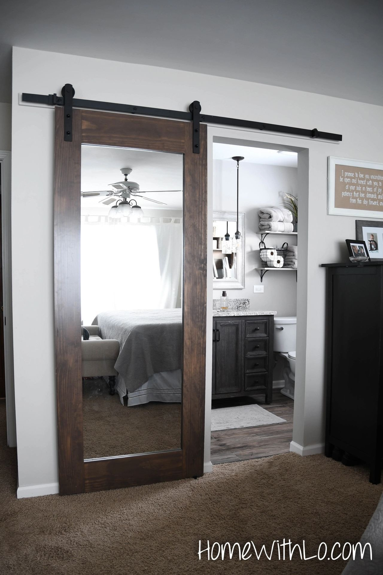 Sliding Doors for Bedroom Lovely Sliding Mirror Door Perfect for the Farmhouse Style Home