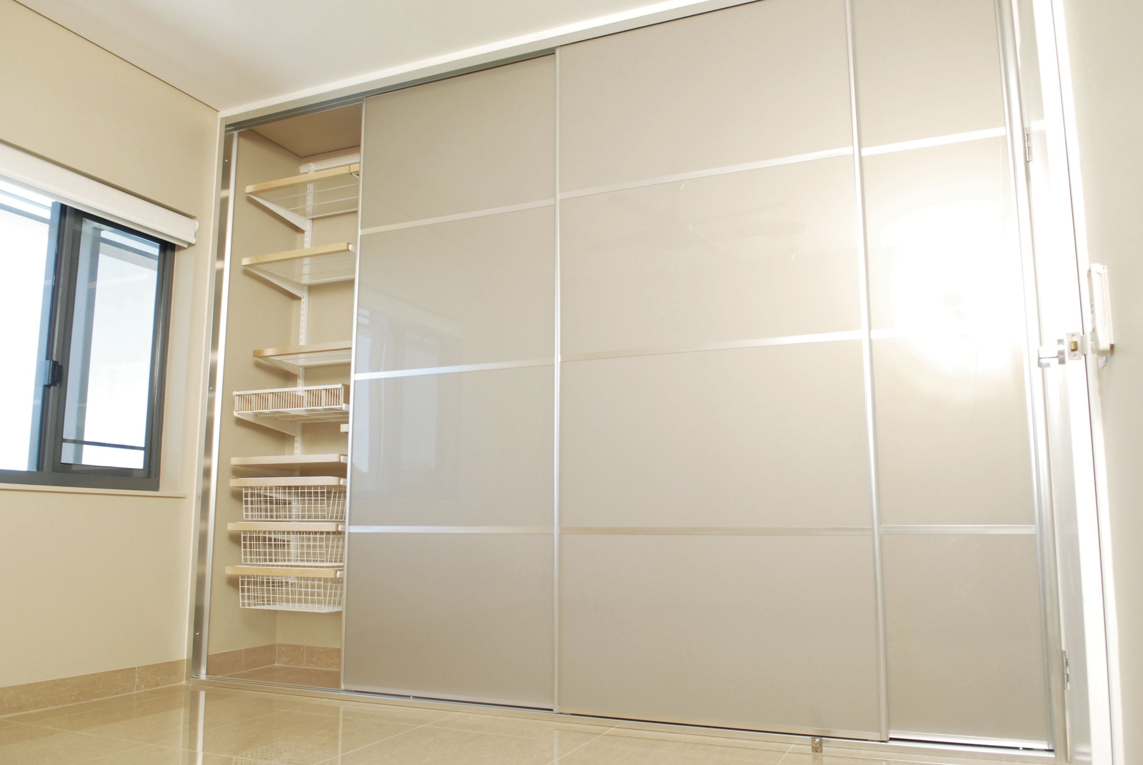 Sliding Doors for Bedroom New Sliding Wardrobe Doors the Panel is Stylite Champagne