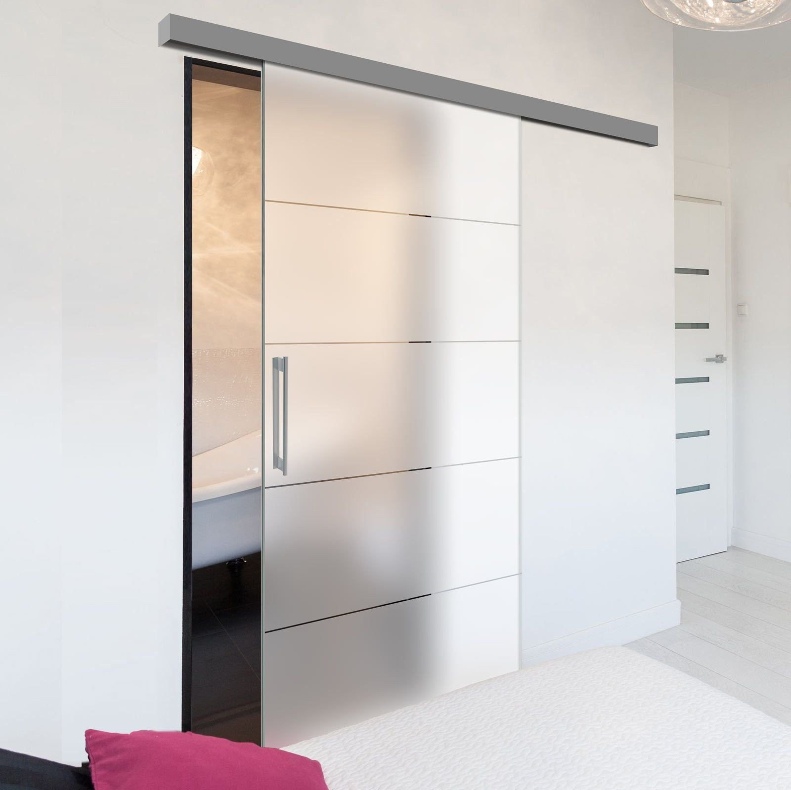 Sliding Doors for Bedroom Unique Single Glass Sliding Door Gullane 8mm Obscure Glass