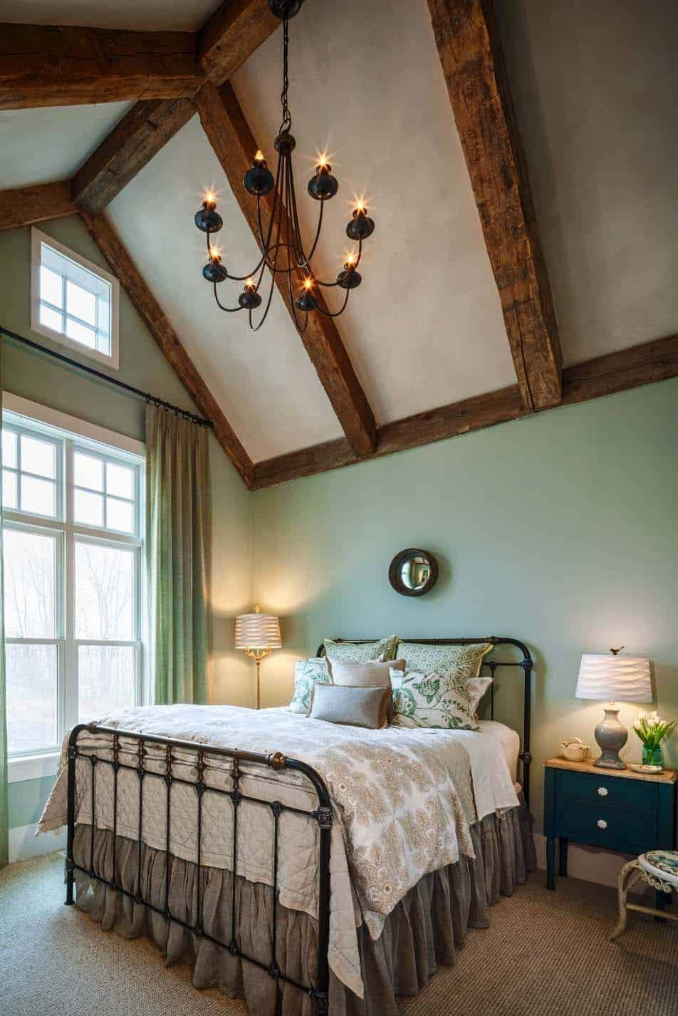 Sloped Ceiling Bedroom Ideas New 25 Absolutely Breathtaking Farmhouse Style Bedroom Ideas