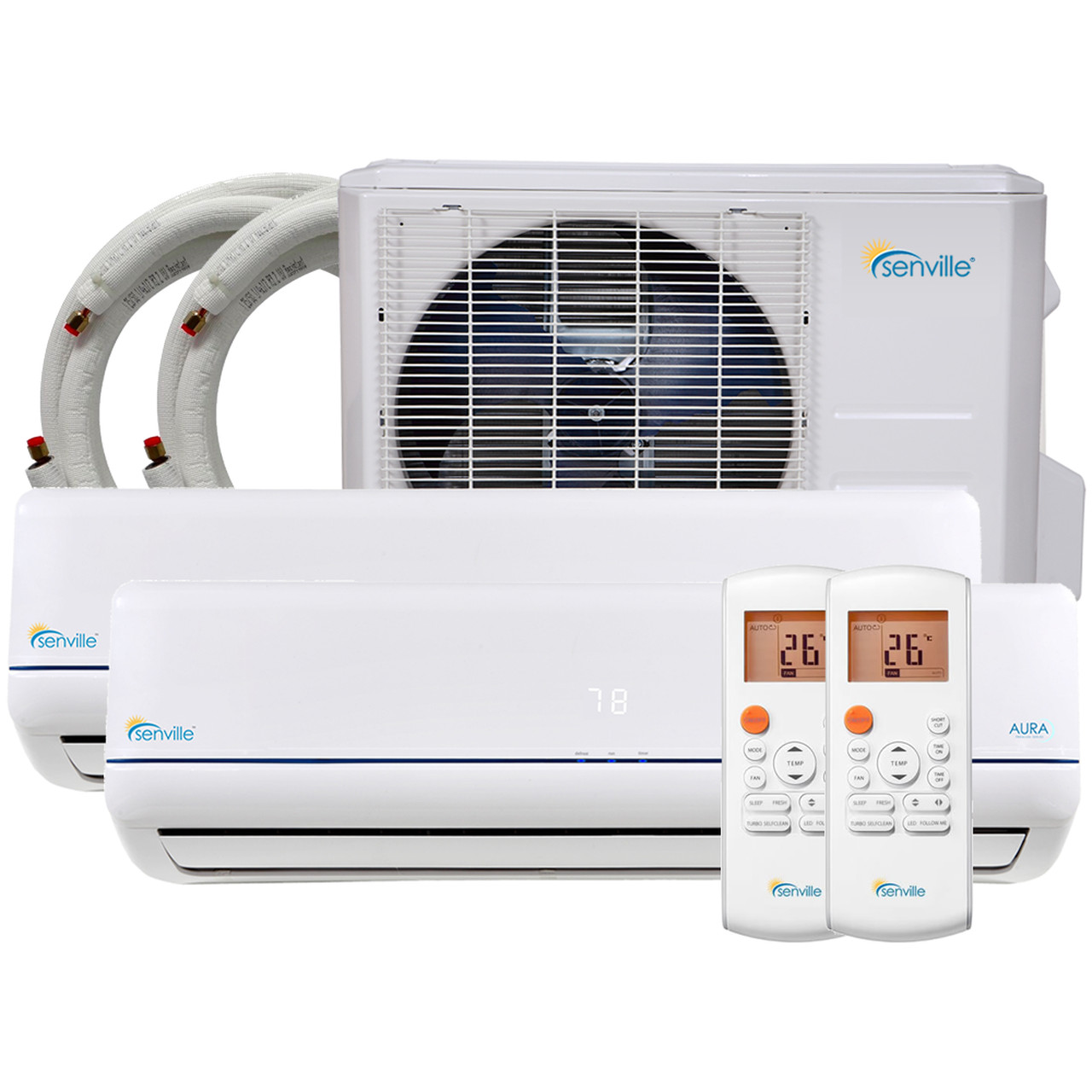 Small Bedroom Air Conditioner Beautiful Btu Dual Zone Mini Split Air Conditioner Heat Pump Sena 36hf D