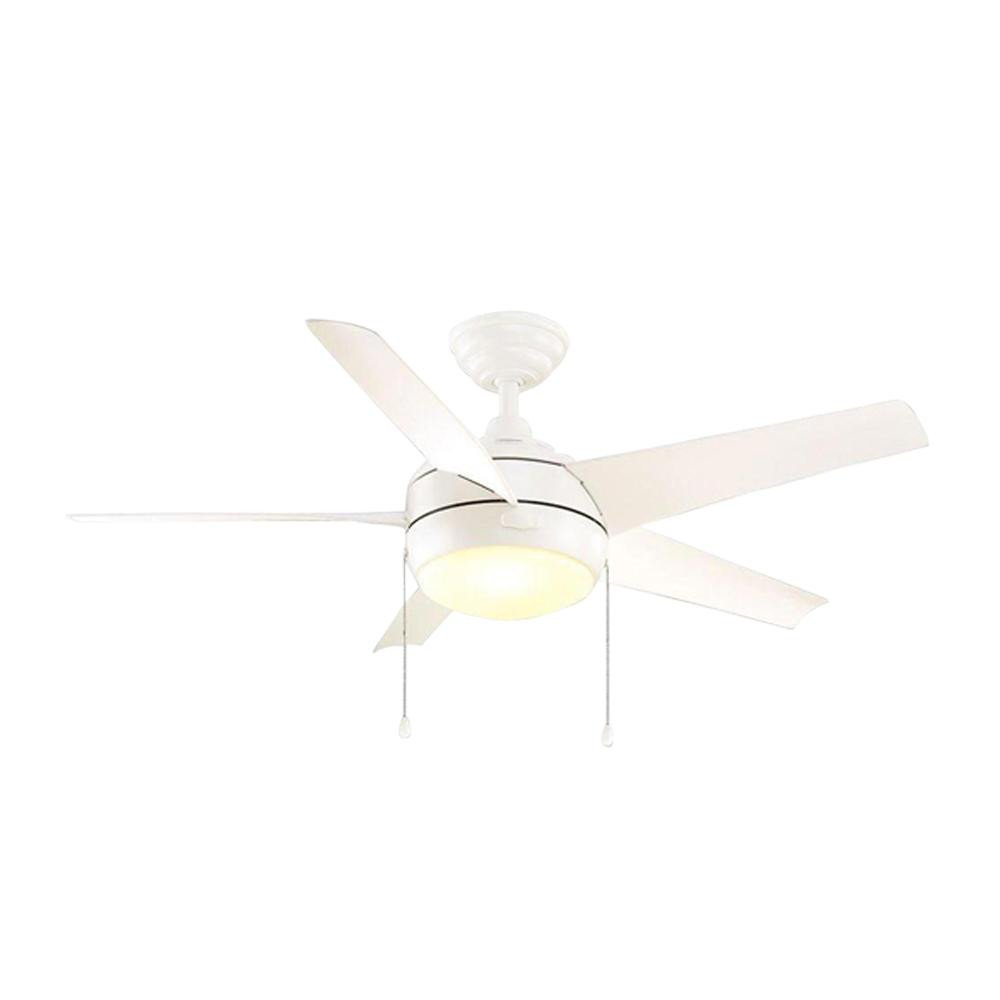 Small Bedroom Ceiling Fan Awesome Home Decorators Collection Windward 44 In Led Indoor Matte White Ceiling Fan with Light Kit