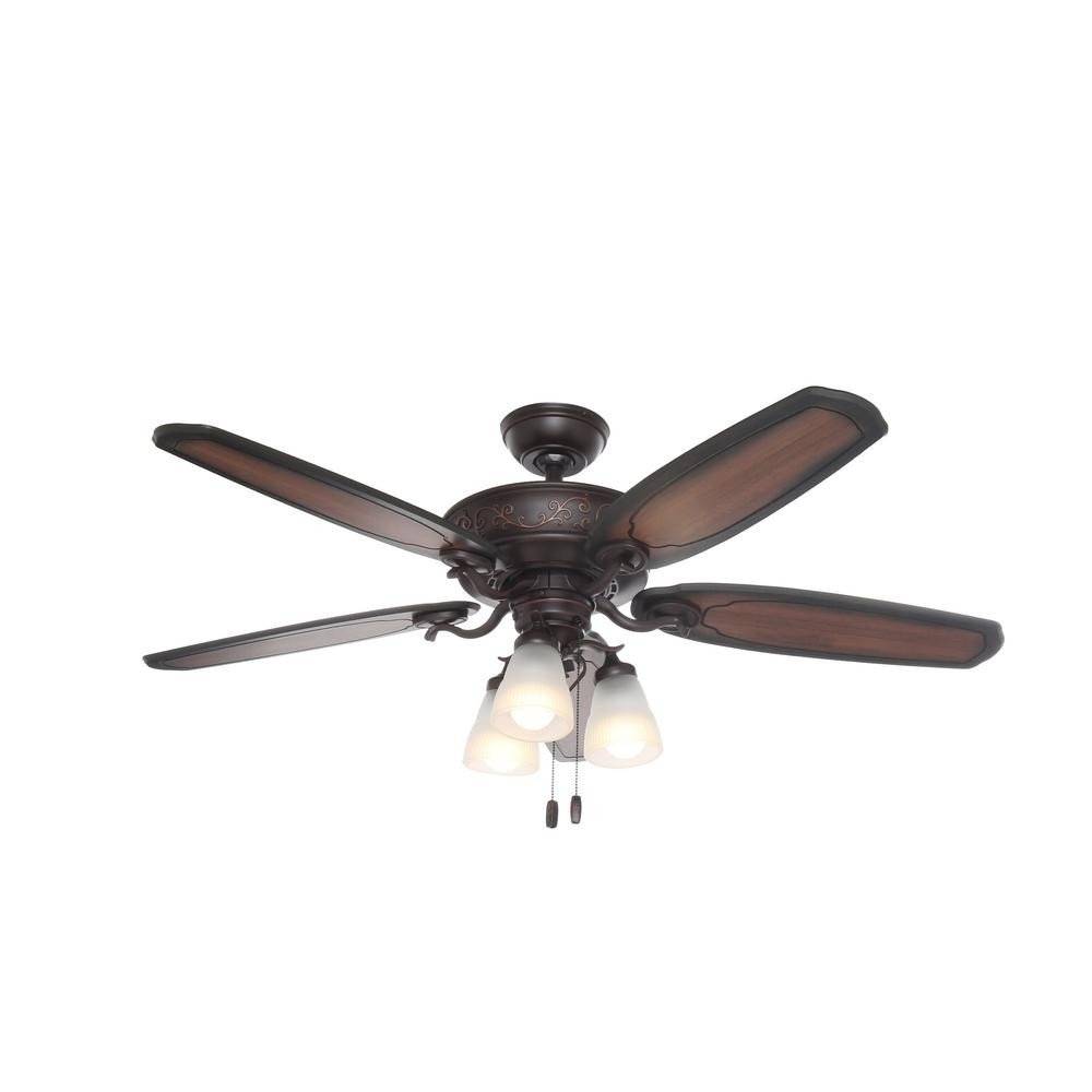 Small Bedroom Ceiling Fan Beautiful Hunter Osbourne 54 In Led Indoor Yx Bengal Ceiling Fan