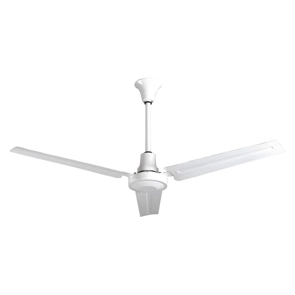 "Small Bedroom Ceiling Fan Lovely Standard Duty Industrial Ceiling Fan 56"" Number Of Blades 3 Number Of Speeds Variable 120vac"