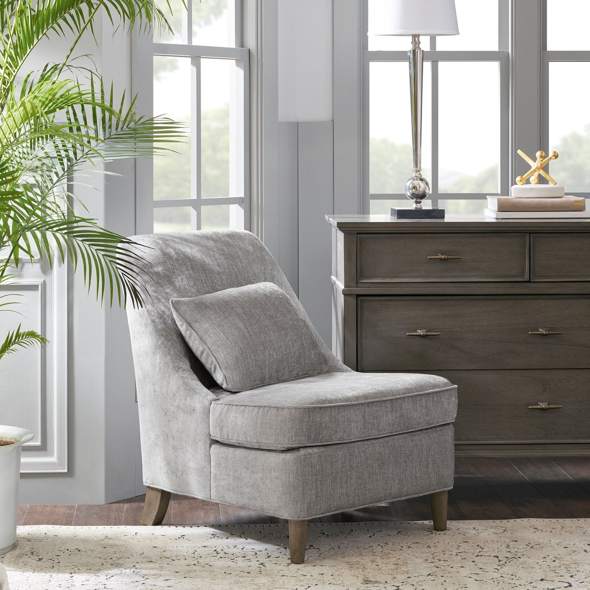 Small Bedroom Chairs for Adults New Madison Park Signature Tilly Light Grey Accent Chair Gray
