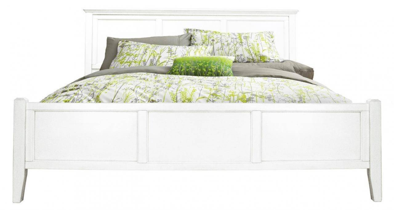 Small Bedroom King Bed Beautiful Cottage King Panel Bed In White Linen Nrlwt5130 A America northlake