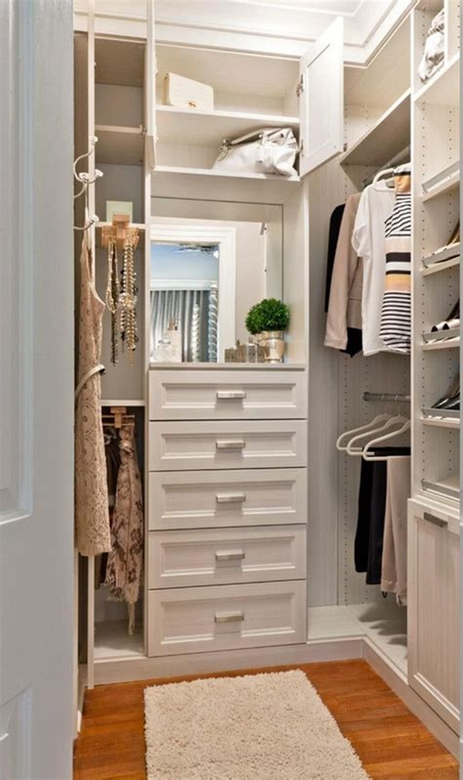 Small Bedroom organization Ideas Beautiful 40 Best Small Walk In Bedroom Closet organization and