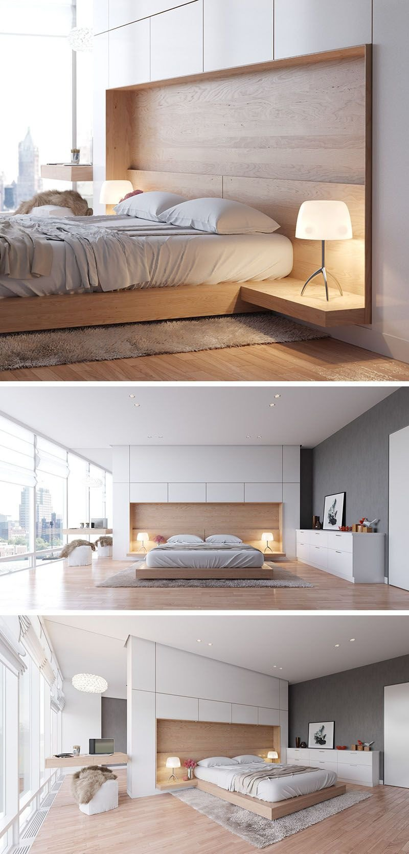 Small Bedroom Side Tables Awesome Bedroom Design Idea Bine Your Bed and Side Table Into