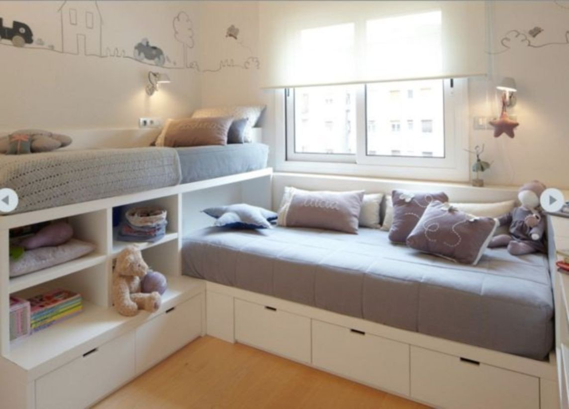 Small Bedroom Storage Ideas Best Of 43 Unordinary Space Saving Design Ideas for Small Kids Rooms