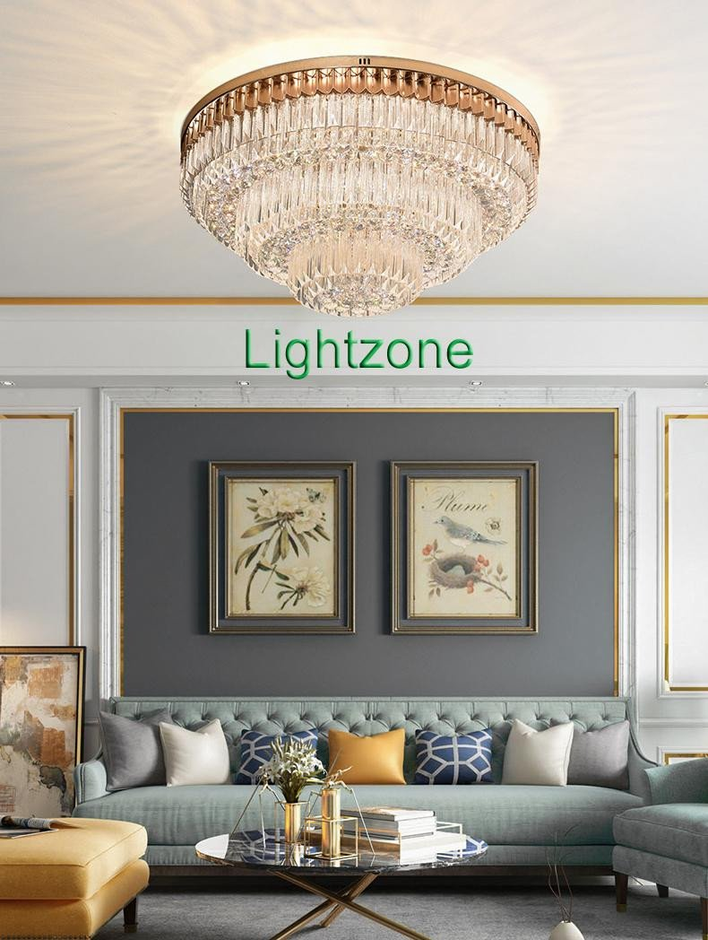 Small Chandeliers for Bedroom Fresh New Design Luxury Crystal Flush Mount Chandeliers Light Modern Round Chandelier Lighting Ceiling Lamp for Hotel Villa Living Room Bedroom Michigan
