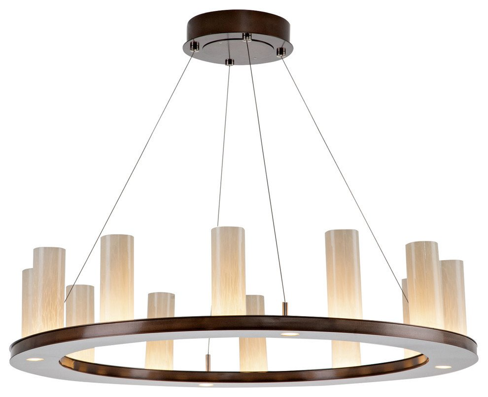 Small Chandeliers for Bedroom Luxury Corona Ring Chandelier Gunmetal Frosted Seeded Glass