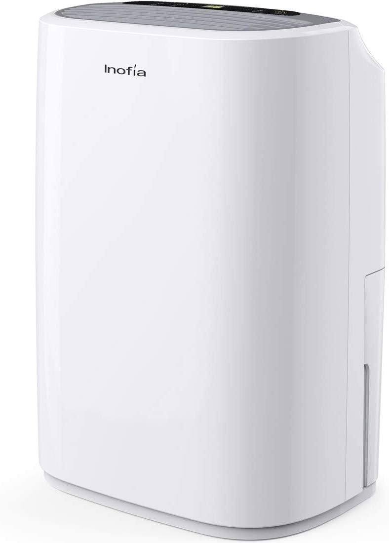 Small Heaters for Bedroom Elegant Inofia 30 Pints Dehumidifiers for Home Basements with Continuous Drain Hose Outlet and 4 Pint Water Bucket Intelligent Humidity Control for Bedroom