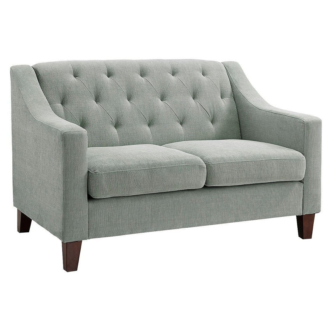 Small Loveseat for Bedroom Awesome Tufted Upholstered Loveseat formal Livingroom
