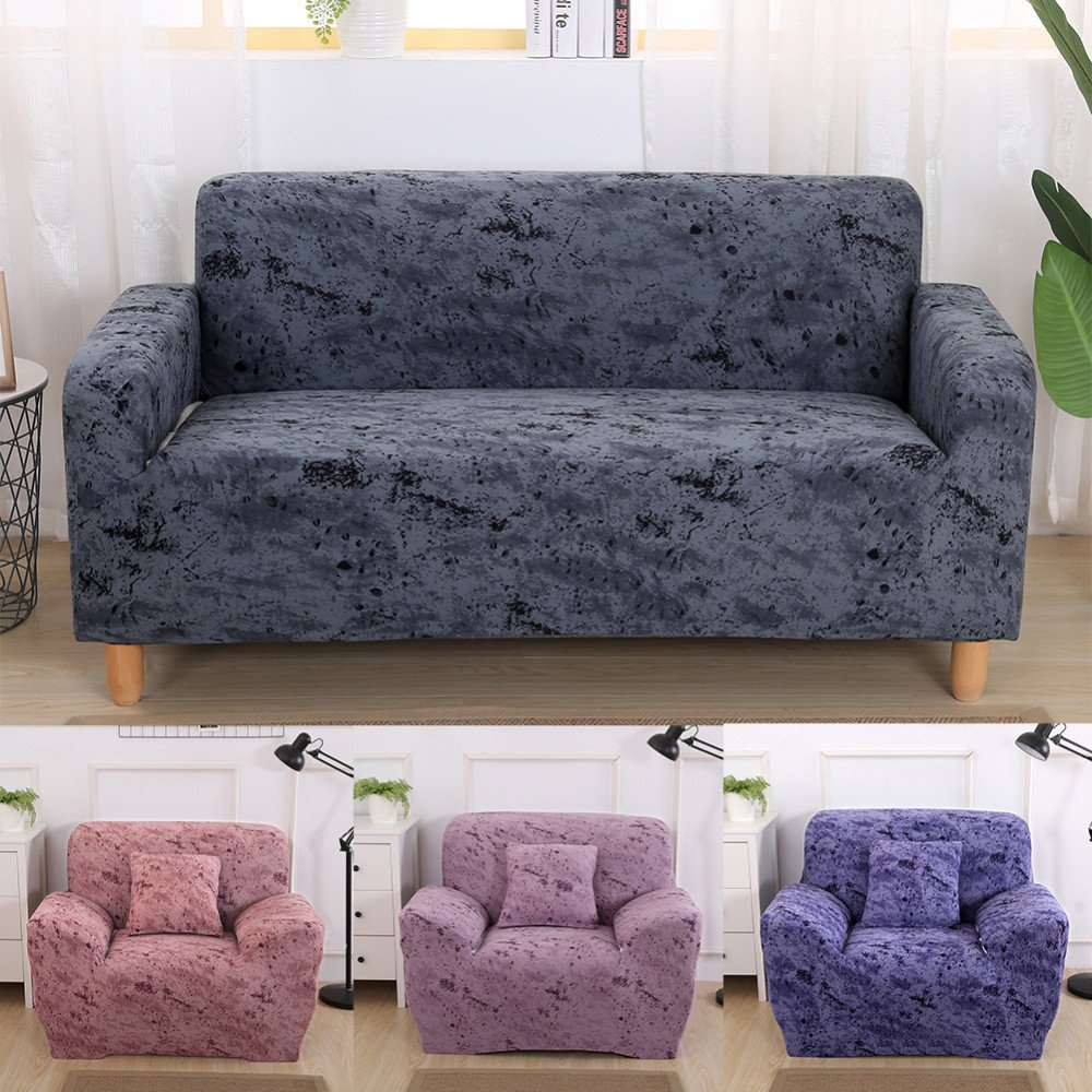 Small Loveseat for Bedroom Lovely Us $18 98 Off Marble Pattern Stretch sofa Covers Furniture Protector Elastic Cotton Modern Loveseat Couch Cover sofa towel 1 2 3 Seater In sofa