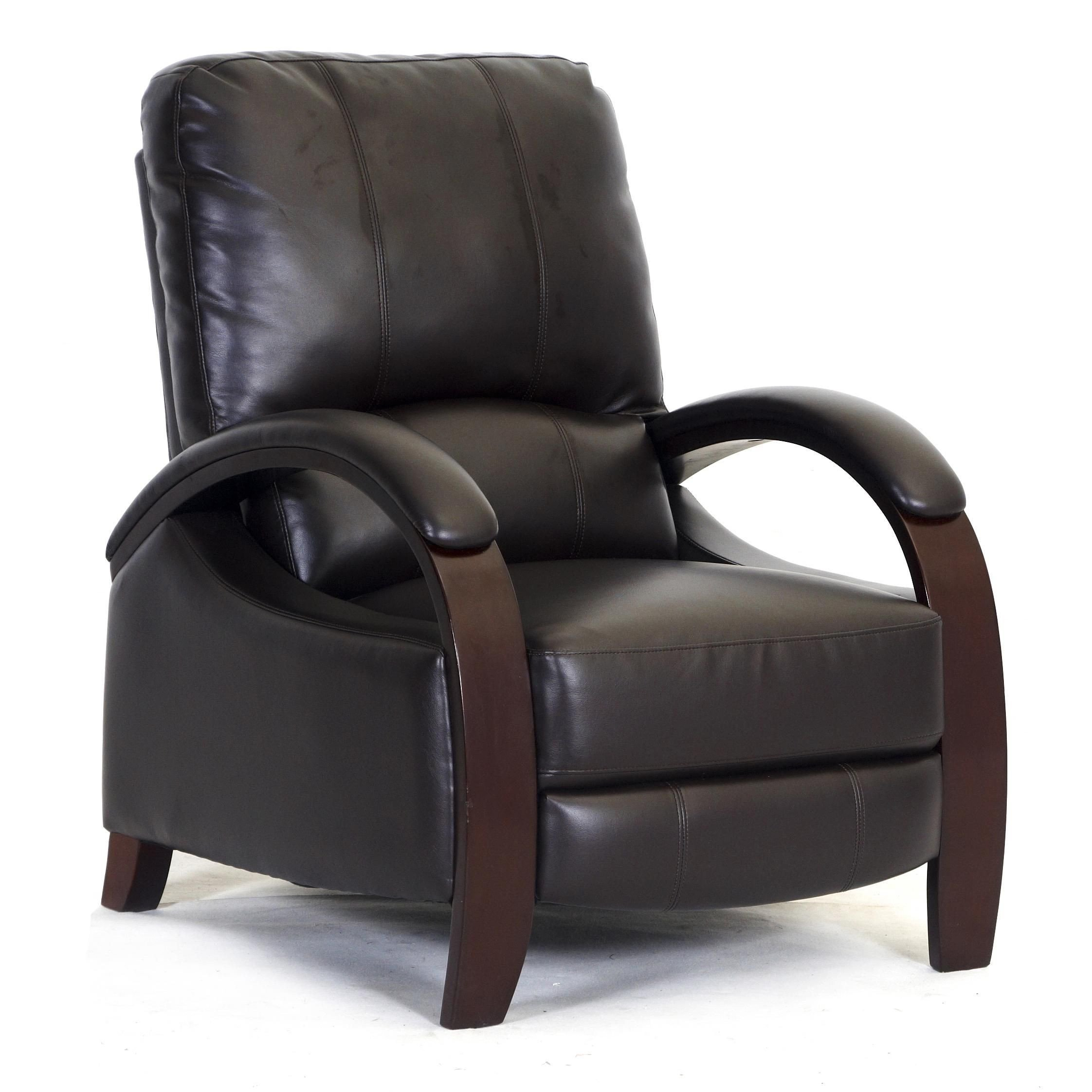 Small Recliners for Bedroom Beautiful 792 Reclining Push Thru Arm Chair by Synergy Home