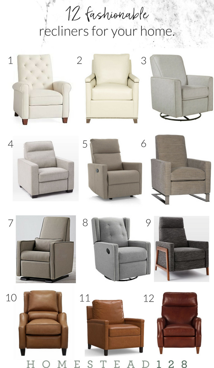 Small Recliners for Bedroom Beautiful the Inspiration Gallery – A Weekly Link Party the